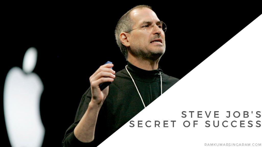 Steve Job's Secret of Success | Motivational Speaker in Tamil